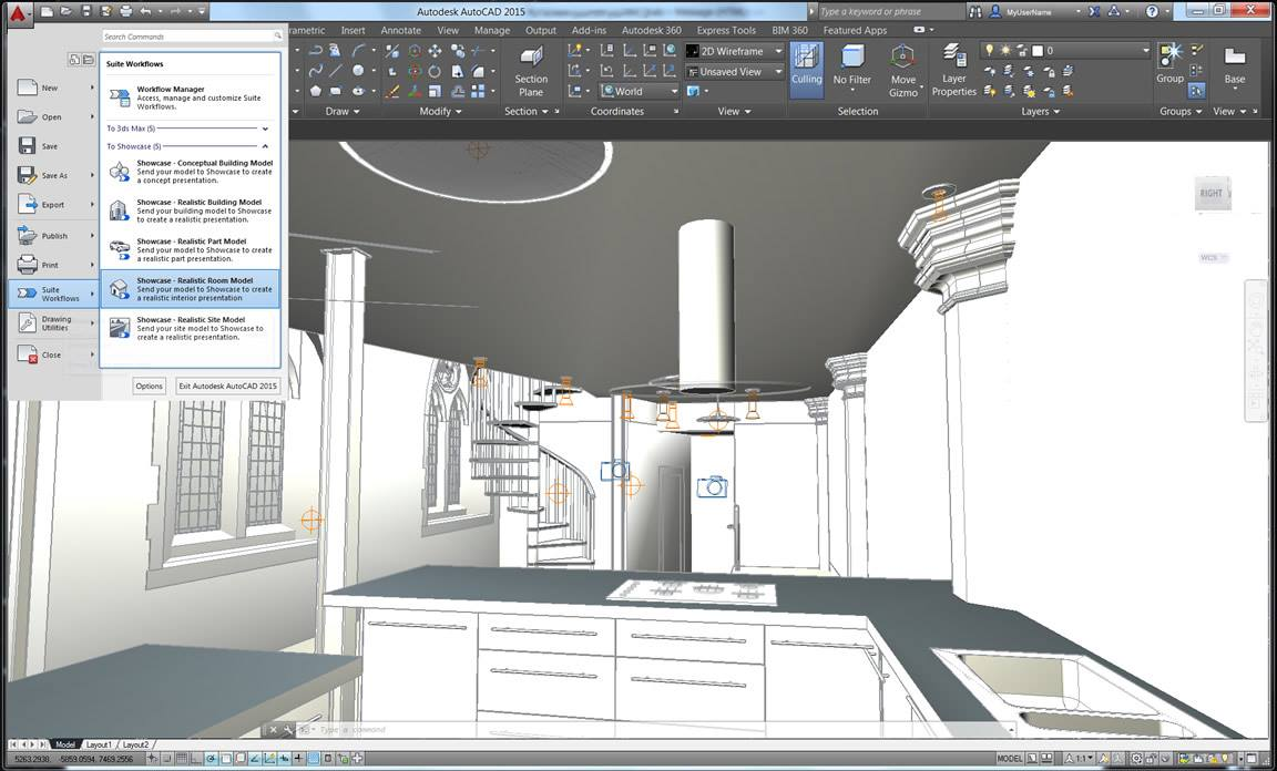 autocad software autodesk cad 3d architecture visualization 2d architectural revit showcase computer aided building modeling standard inventor presentation drawing rendering