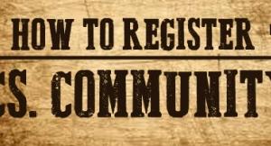 How To Register | CS Community