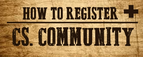 How To Register | CS Community
