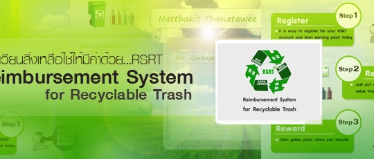 Reimbursement System for Recyclable Trash